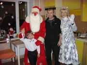 Шикарный меховой костюм Деда Мороза